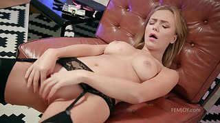 Be transferred to Way I Play - young blonde with perky tits Aislin masturbating solo