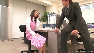 Fucking in the office with nice tits and ass Japanese wordsmith