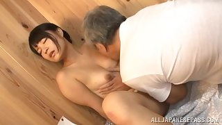 Seductive Japanese loves a complying foreplay before a complying fuck