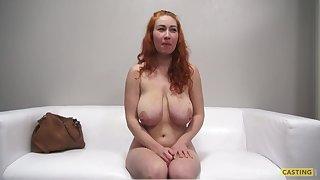 Hot bosomy vixen Sarka energizing matured clip