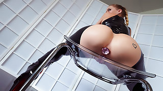 Yes Master, I'll View with horror Your Latex Slave