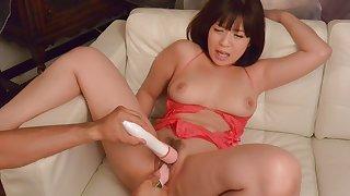 Horny Japanese slut Wakaba Onoue in Best JAV uncensored Lingerie scene