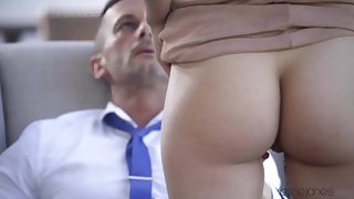 Outdoors fucking doubtful remainders with cum back mouth for desirable Anya Krey