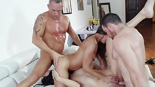 Naughty dudes are swapping their lovely stepdaughters